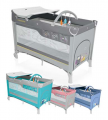 Łóżeczko turystyczne Baby Design - Dream Sowy