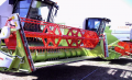 Efficient and robust rapeseed harvesters 3,9-7,5m and side mechanical knives.
