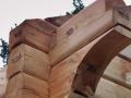 Łaźnie, obiekty wypoczynkowe,sauny z bali drewnianych o przekroju kwadratowym lub okrągłym a także typu sandwich.