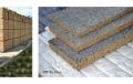 Płyta z drzazg drewnianych i cementu PDC do stosowania w budownictwie, przy remontach, pracach wykończeniowych; płyta jest łatwa w obróbce i odporna na ogień i gnicie, grzyby, gryzonie, insekty.