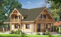 Ekskluzywne, piękne, modne  i naturalne domy i budynki mieszkalne budowane z bala sosnowego okrągłego, lub kwadratowego.