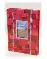 """Album pamiątkowy z """"okienkiem"""" na 200 zdjęć, klejony, z papierowymi stronami i miejscem na notatki."""