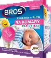 Bros elektrofumigator + płyn na komary dla dzieci