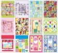 Torebki prezentowe z papieru błyszczącego 128g/m2, dla dzieci, na baby shower, kolory dla chłopca i dziewczynki.