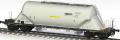 Wagon do przewozu cementu 441S (Uacns) do przewozu materiałów sypkich, np. wapno, cement, zboża, konstruowany zgodnie z przepisami UIC, TSI, AVV oraz krajowym PKP.
