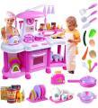 Kuchnia dla dzieci dziecka podwójna kran z wodą
