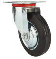 Zestaw kołowy Koło obrotowe 160mm skrętne 520160