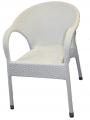 Fotel Rondo białe