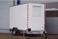 Bauwagen anhänger mit Möbel Blyss zgg 1300 kg