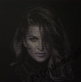 Glamor Portrait picture with Swarovski crystals - The new face of the portrait
