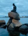 Copenhagen Mermaid Bronze Sculpture A rarity!