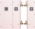 Bateria kotłów wodnych EKW - AsB-II Bateria (bateria kotłów)