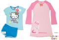 Zestaw 2x HELLO KITTY piżamka piżama + koszula nocna