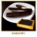 Wafelki nadziewane w polewie czekoladowej
