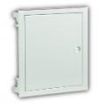 Rozdzielnica PŁAS-LINIA™ p/t 14-mod. z drzwiami metalowymi super płaskimi