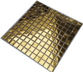 Mozaika dekoracyjna  złota. Mozaiki szklane