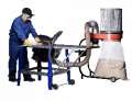 The equipment for a filtration, catching and removals of a dust and a smoke from air