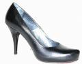 Pantofle na obcasach damskie