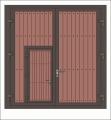 Drzwi stalowe garażowe