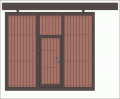 Drzwi skrzydłowe przemysłowe