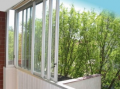 Aluminiowe zabudowy balkonów.