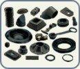 Różnego rodzaju gumowe wyroby formowe