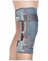 Orteza stawu kolanowego z szynami elastycznymi, z surowca strukturalnego ACL ProFit - dwuwarstwowej tkaniny doskonale dopasowującej się do ciała pacjenta.