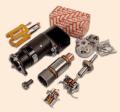 Rozruszniki i alternatory, oraz pełen wybór nowych części występujących w w/w podzespołach.