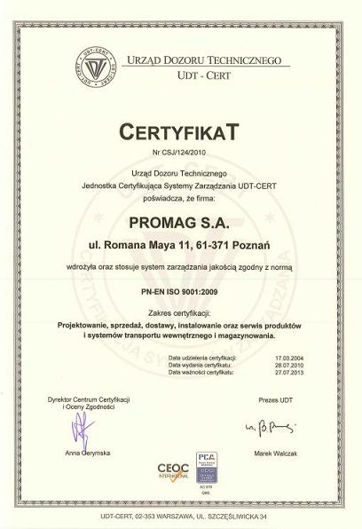 PROMAG, S.A.