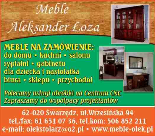 Aleksander Łoza Zakład Stolarski, P.H.U., Swarzędz