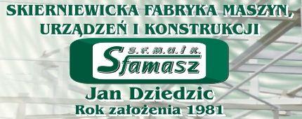 Sfamasz Jan Dziedzic Skierniewicka Fabryka Maszyn, Urządzeń i Konstrukcji, P.P.H., Łowicz