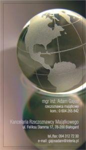 Kancelaria Rzeczoznawcy Majątkowego Adam Gajos, Zakład Prywatny, Białogard
