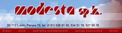 Modesta, Sp.K., Lublin
