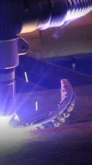 Zamówienie Laserowe cięcie metali walcowanych.