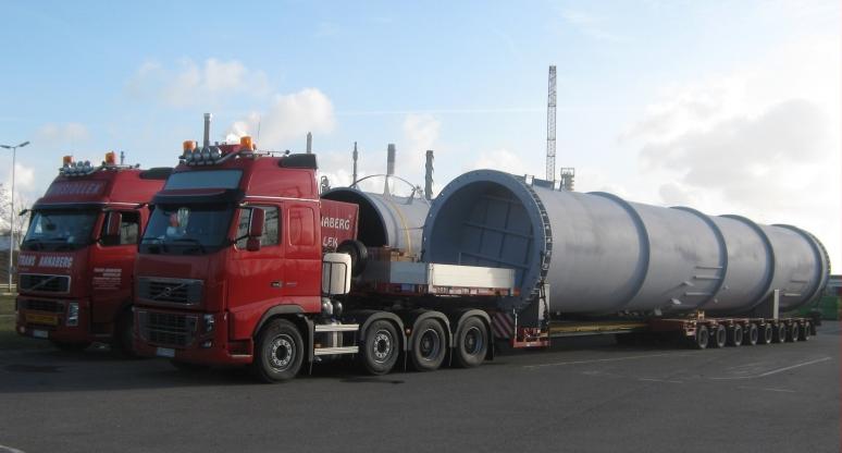 Zamówienie Transport zbiorników