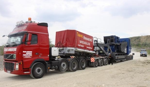 Zamówienie Transport samochodowy ciężarów