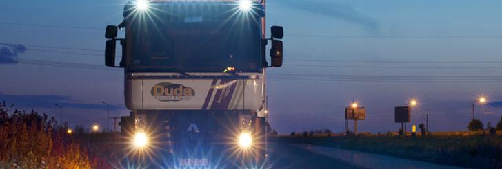 Zamówienie Krajowy transport drogowy