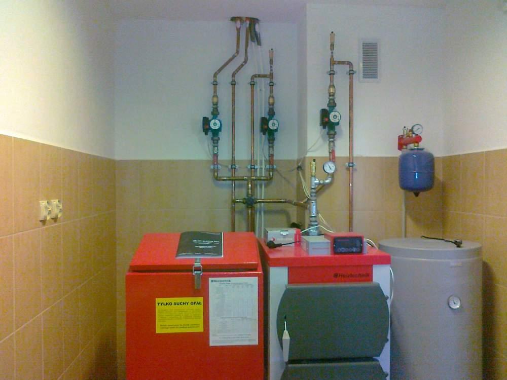 Zamówienie Montaż kotłów eko-groszek, gaz, olej opałowy, paliwa stałe