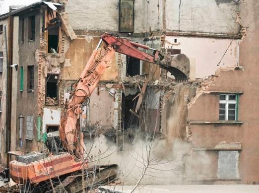 Zamówienie Wyburzanie budynków