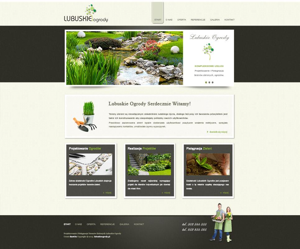 Zamówienie Tworzenie, projektowanie stron internetowych dla firm osób indywidualnych