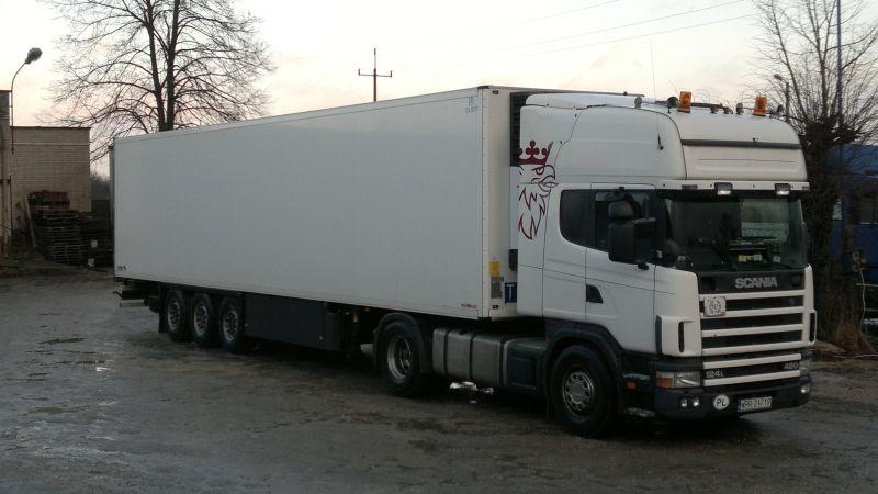Zamówienie Transport drogowy towarów