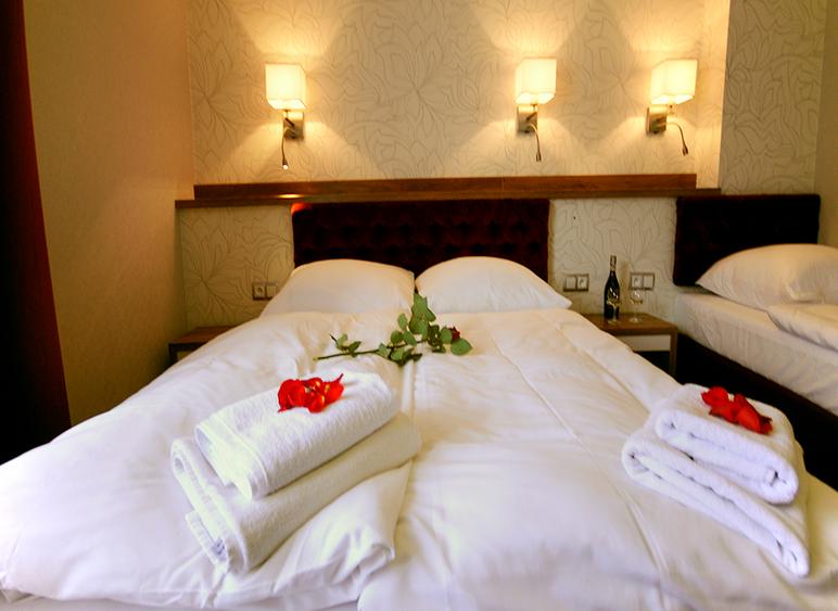Zamówienie Pokoje hotelowe w Jamrozowej Polanie