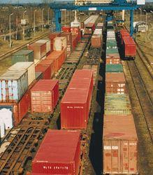 Zamówienie Transport kolejowy , transport lądowy , transport międzynarodowy , usługi logistyczne , spedycja lądowa