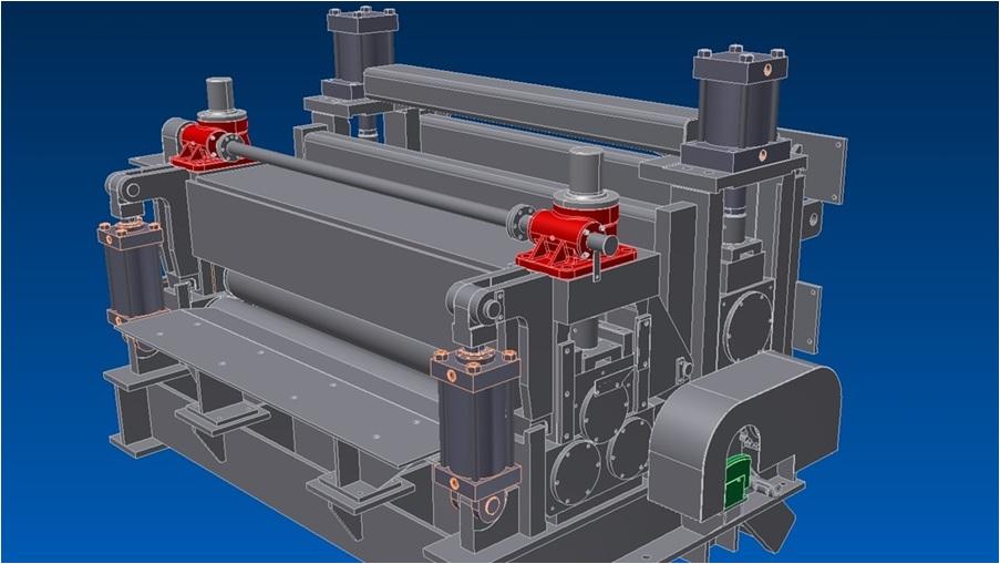 Zamówienie Projektowanie maszyn i urządzeń dla przemysłu hutniczego