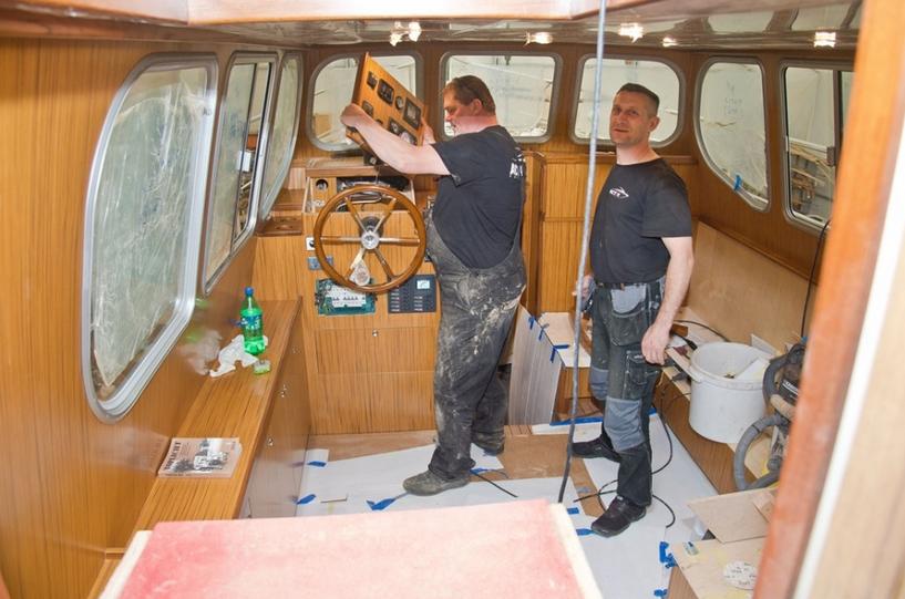 Zamówienie Kompleksowe remonty jachtów