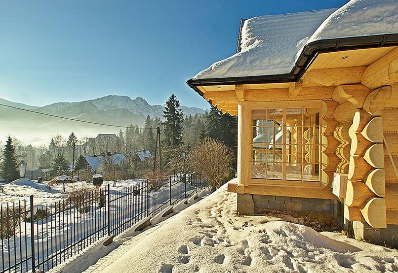 Zamówienie Wynajem domków drewnianych dla gości