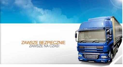 Zamówienie Transport artykułów żywnościowych