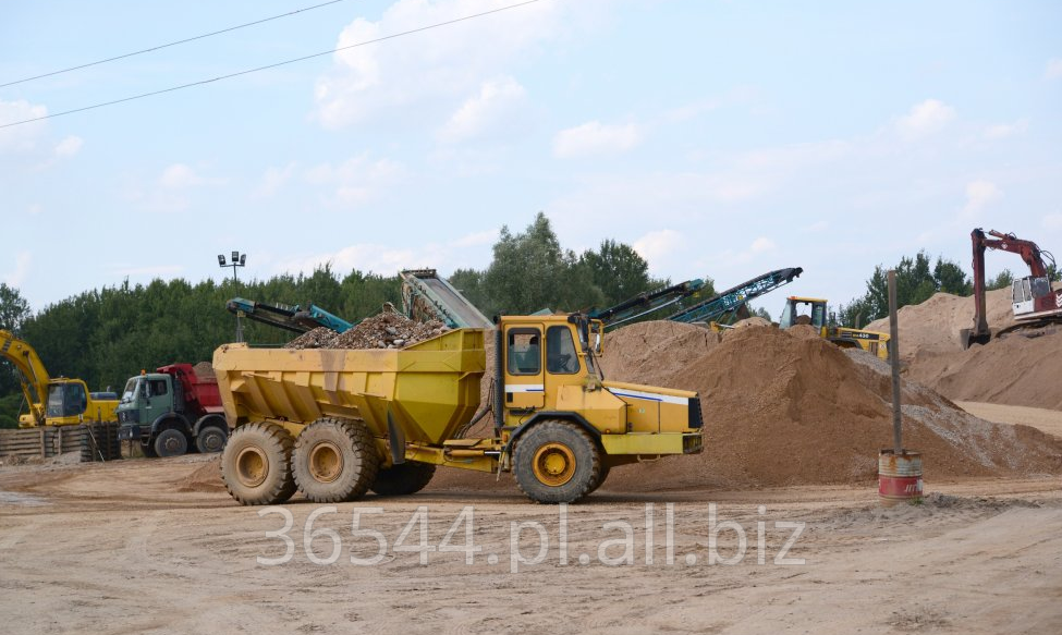 Zamówienie Kruszywa budowlane dla zaoparzenia wytwórni betonów.
