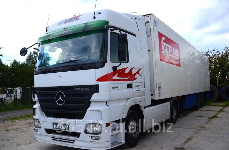 Zamówienie Transport samochodowy ciężarów na terenie Unii Europejskiej.