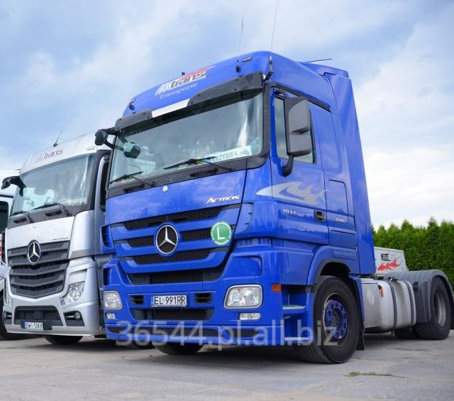 Zamówienie Przewóz ładunków budowlanych na terenie Unii Europejskiej.